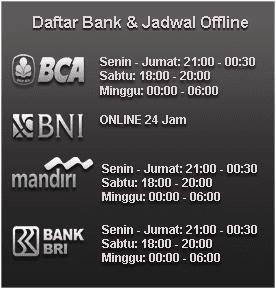 jadwal bank offline jptangkas